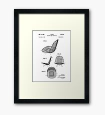 Eames DKR Iconic Mid Century Modern Chair Patent Drawing Design Framed Print
