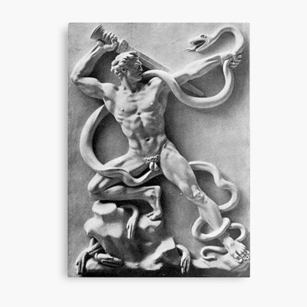 Arno Breker - Battle Against Serpents Metal Print