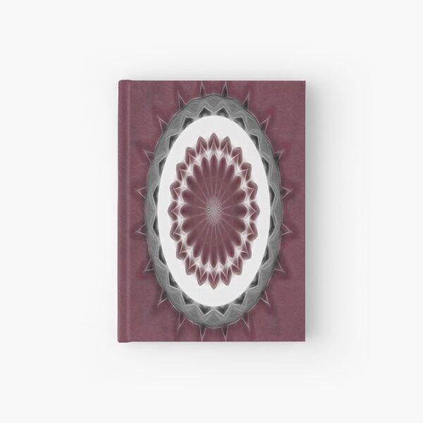 Mauve Kaleidoscope Art 1 Hardcover Journal