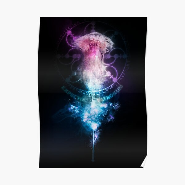 Expecto Patronum Jellyfish Poster