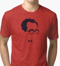 Bf Skinner (Hirsute History) Tri-blend T-Shirt