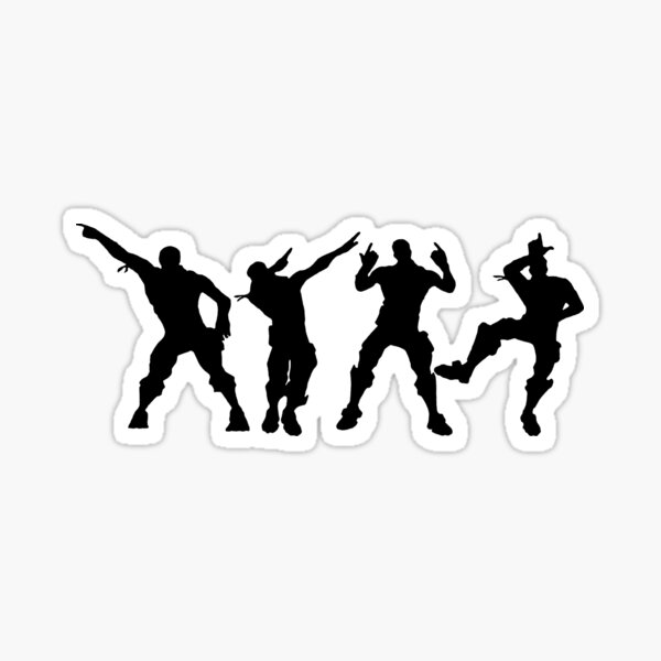 Battle Royale Victory Justice Dance Sticker