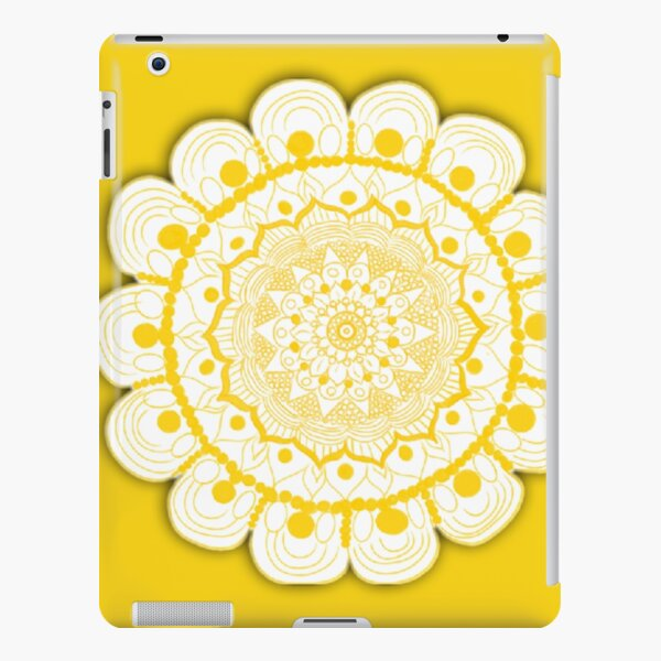 Sunny Flower Mandala  iPad Snap Case