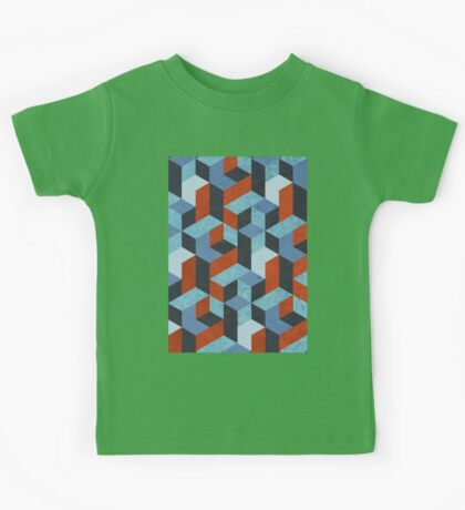 Funky Geometric Texured Kids Clothes