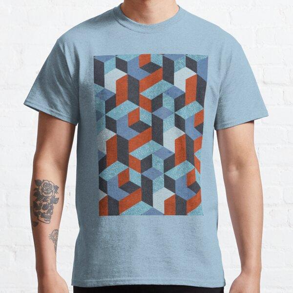 Funky Geometric Texured Classic T-Shirt