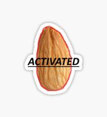 Activated Almond Sticker