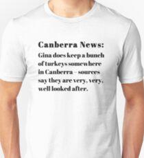 Gina's Canberra Turkeys T-Shirt