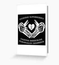 BPD Heroes Greeting Card