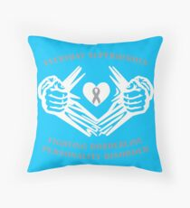 BPD Heroes Throw Pillow