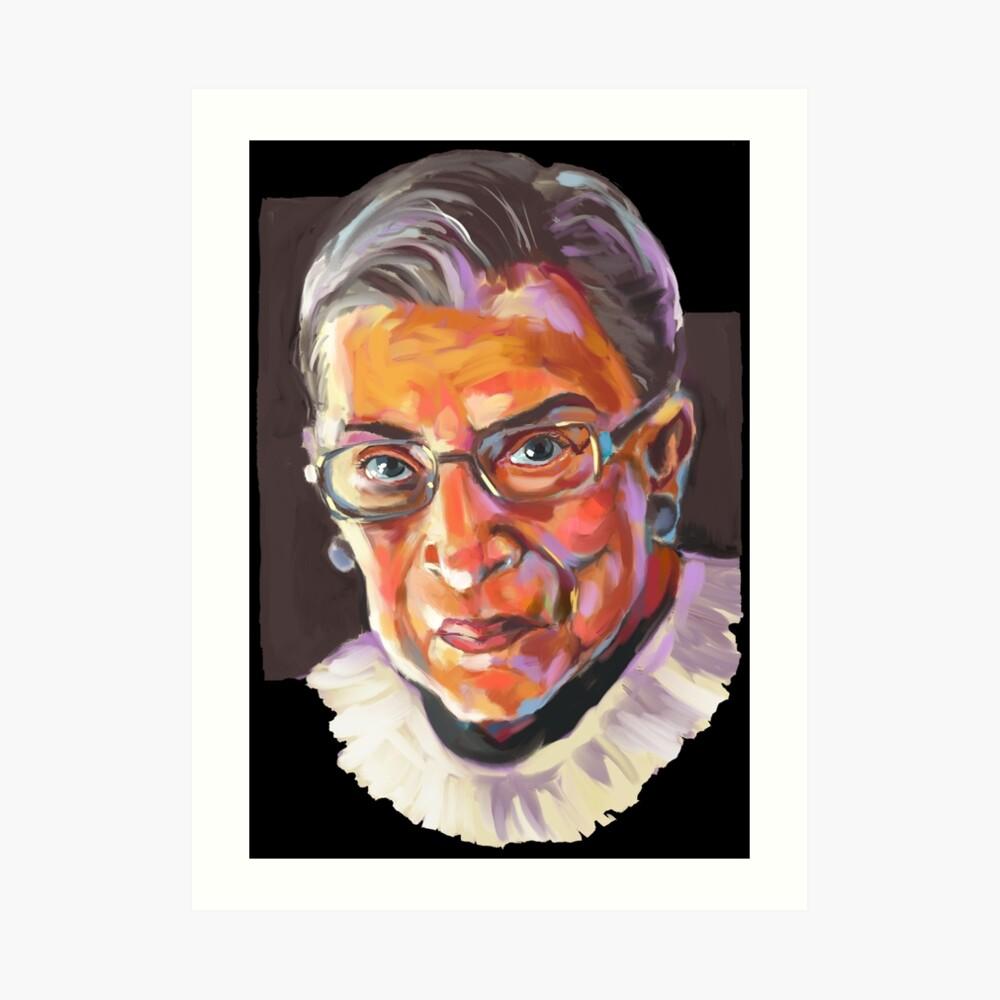 Richterin am Obersten Gerichtshof Ruth Bader Ginsburg Kunstdruck