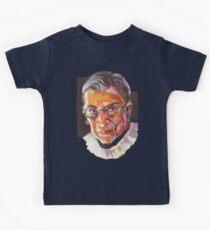 Supreme Court Justice Ruth Bader Ginsburg Kids Tee