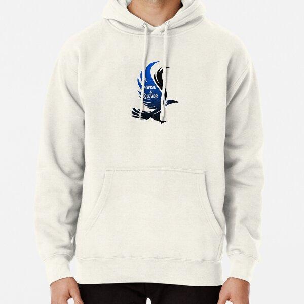 Aigle bleu sage et intelligent HARRYPOTTER 2 Sweat à capuche épais