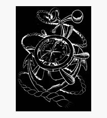 Anchor time Photographic Print