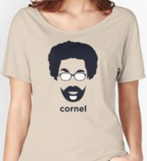 Cornel West (Hirsute History) Women's Relaxed Fit T-Shirt