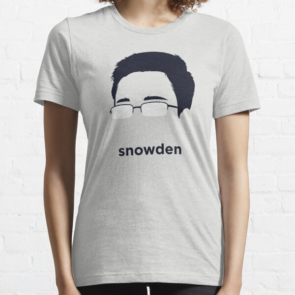 Edward Snowden (Hirsute History) Essential T-Shirt