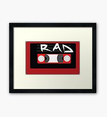Rad Mixtape Framed Print