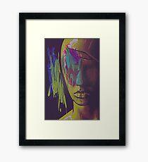 Judgement Figurative Abstract Portrait Framed Print