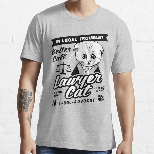 Lawyer Cat Essential T-Shirt