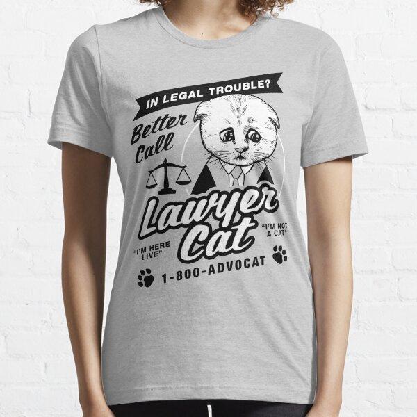 Rechtsanwalt Cat Essential T-Shirt