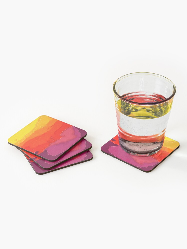 Alternate view of Sunset Coasters (Set of 4)