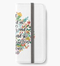 Proverbs 31:25 iPhone Wallet/Case/Skin