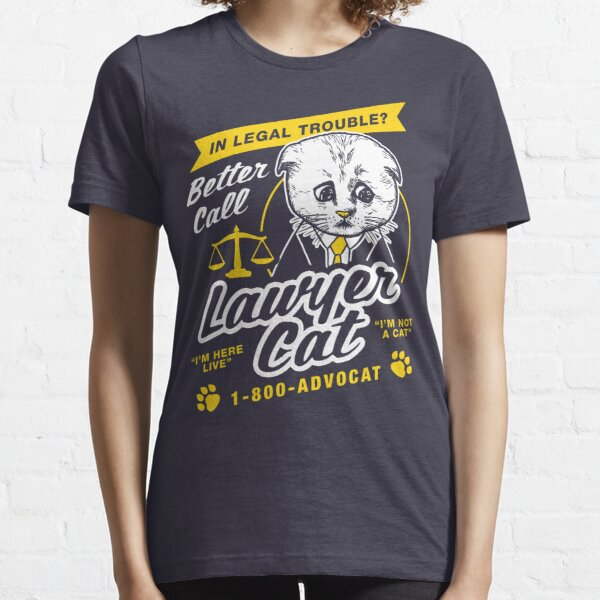 I'm Not A Cat Filter Lawyer Essential T-Shirt