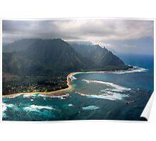 Tunnels Beach - Kauai Poster