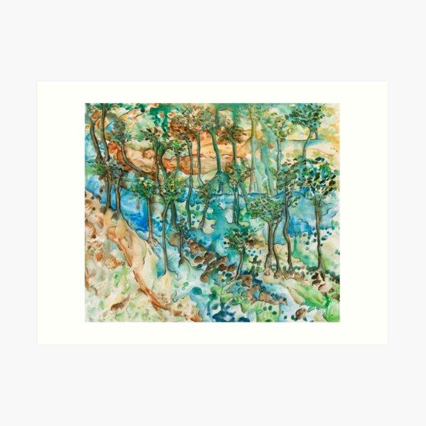 Watery Way Art Print