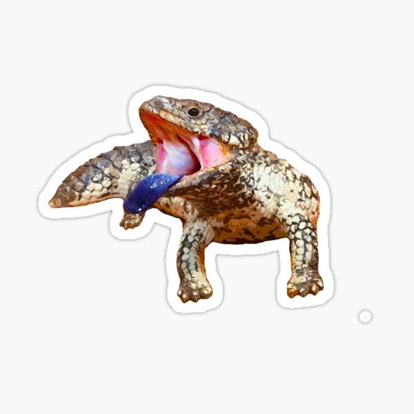 Mr Lizard Sticky Sticker
