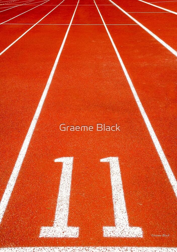 Running track number 11 by Graeme Black