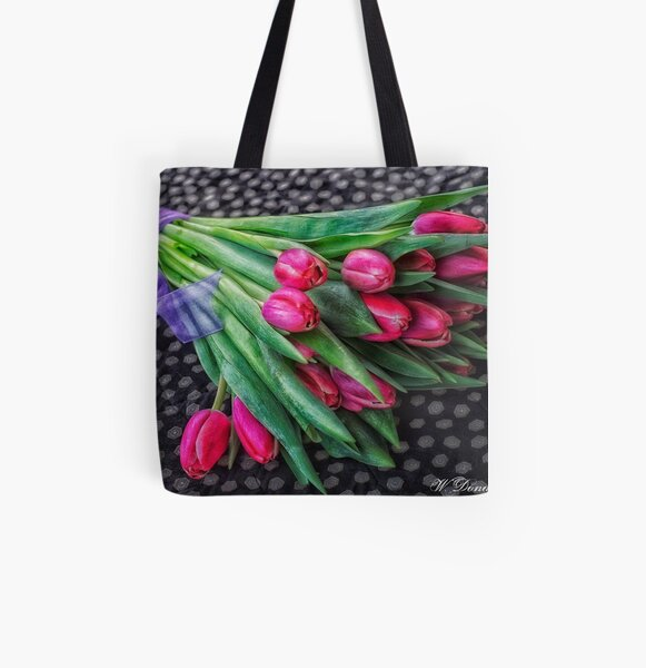 Spring Bouquet All Over Print Tote Bag