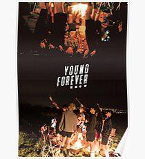 BTS/Bangtan Sonyeondan - Young Forever Night Scenes Poster