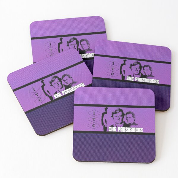 THE PERSUADERS 9 Coasters (Set of 4)