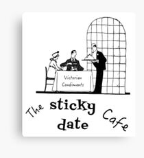 The Sticky Date Cafe Canvas Print
