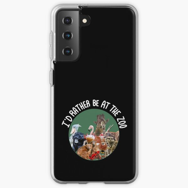 Id rather be at the zoo Samsung Galaxy Soft Case
