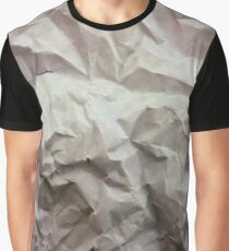 """crumpled paper"" iPhoneography Graphic T-Shirt"
