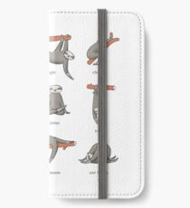 Sloth Yoga - The Definitive Guide iPhone Wallet/Case/Skin