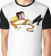 Calvin And Hobbes : Sleepy Time Graphic T-Shirt