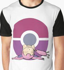 Skitty Pokemon Graphic T-Shirt