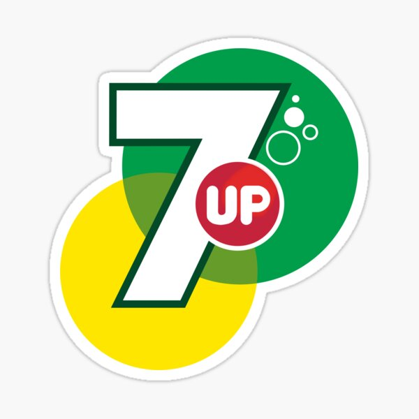 7 Up Sticker