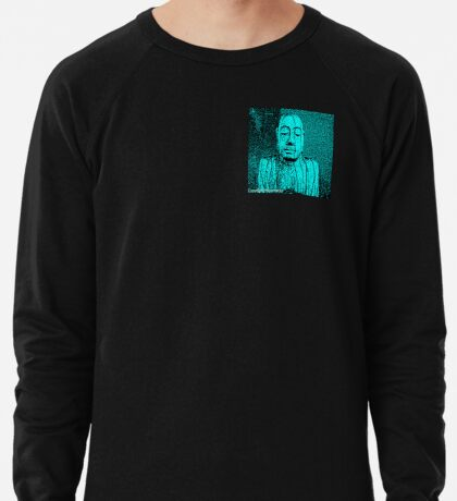 Karma in Turquise  Lightweight Sweatshirt