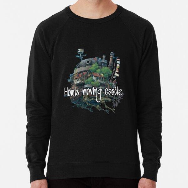 Howls moving castle design Lightweight Sweatshirt