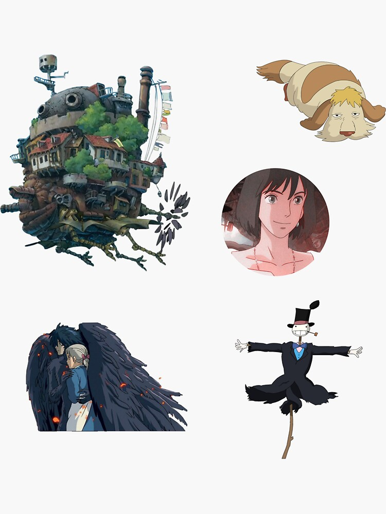 Howls moving castle design by The-Becca