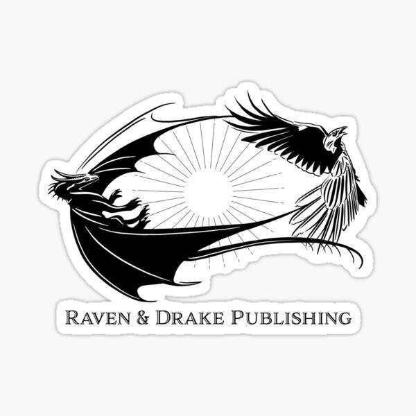 Raven and Drake Publishing Logo Goodies Sticker
