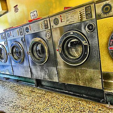 Hawthorn Road, retro Laundrette of Ketterin'Kollection  by bywhacky