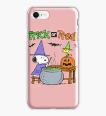 Snoopy Trick Or Treat iPhone Case/Skin