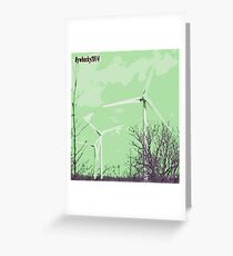 Windmils of Burton by whacky Greeting Card