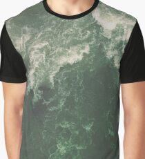 Green Ocean Graphic T-Shirt