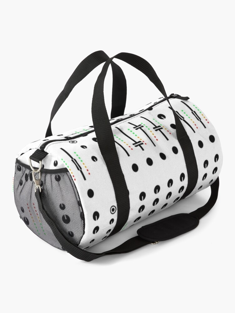 Alternate view of DJ's Mixer Deck Duffle Bag