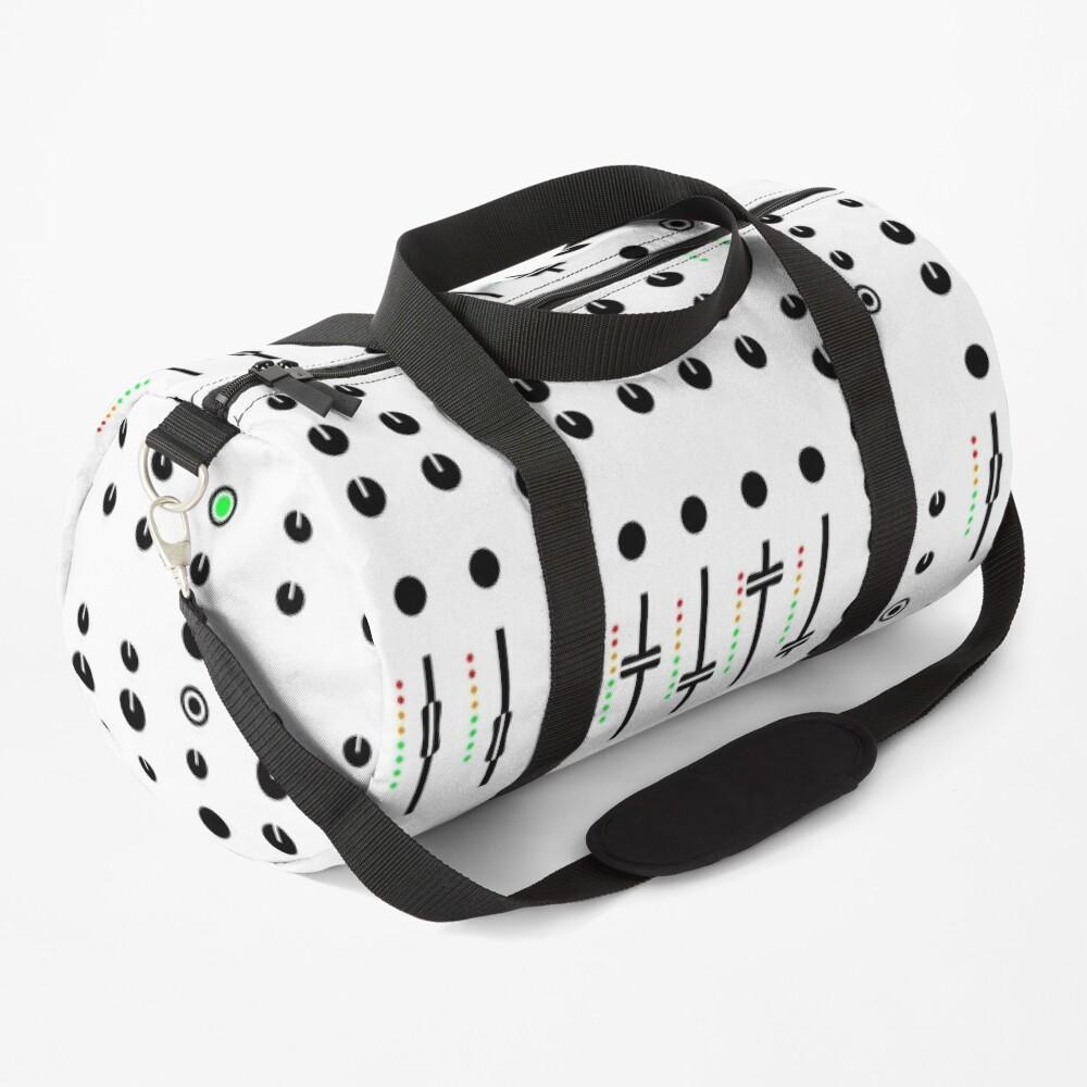 DJ's Mixer Deck Duffle Bag